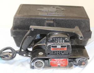 Sears Craftsman 315.11721 3x 21 Corded Electric Belt Sander with case!