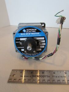Superior Electric Motor Motor Slo syn Stepping Encoder E2 500 375 igh Nema 34 Us