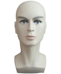 Top Quality Male Mannequin Head Hat Display Wig Training Head Model Head Model