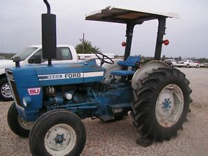 Ford Farm Tractor 4600 Su New Holland Diesel Price Reduced