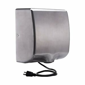 Electric Hand Dryer Automatic Sensor Commercial Bathroom 1800w Air High Speed