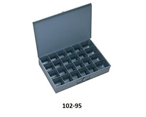 New 4 Durham Large Compartment Boxes Scoop Box Style Storage Steel For Racks