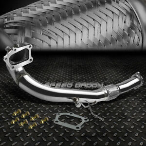 Stainless Steel Racing Turbo Downpipe Exhaust 07 13 Mazda 3 Mps 2 3 Mazdaspeed3