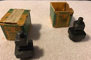 Lot 2 Greenlee 731 3 4 Square Radio Chassis Punch