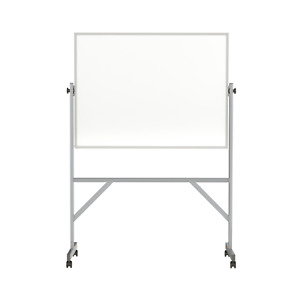 Ghent Reversible Magnetic Porcelain Whiteboard With Aluminum Frame 3 h X 4 w
