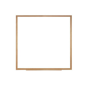 Ghent Non magnetic Whiteboard With Wood Frame 4 h X 4 w 1 Ea