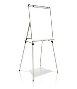 Ghent Presentation Easel With Magnetic Whiteboard 3 h X 2 w 1 Ea