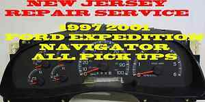 1997 2001 Ford Pick Up Expedition Navigator Software And Odometer Calibration