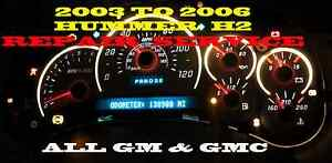 Gmc Gm Hummer H2 Software And Odometer Calibration Service
