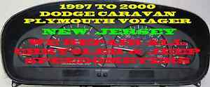 1997 2000 Dodge Caravan Plymouth Voyager Software And Odometer Calibration Serv
