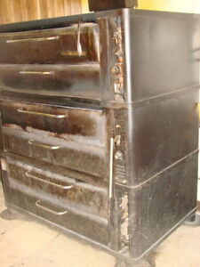 Business Restaurant Commercial Kitchen Equipment Warming Pizza 3 Ovens