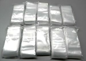 4000 Ziplock Bags 2 x3 Clear 2mil Poly Bags Small Plastic Baggies 2x3 Size