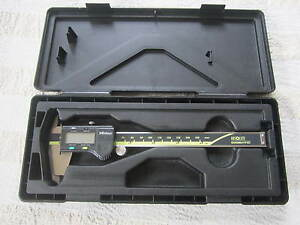 Mitutoyo 0 6 Digital Caliper 500 196 20 In Case Cd 6 Csx Machinist Metal Tool