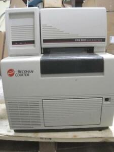 Beckman Coulter Ceq 8000 Genetic Analysis System Dna Sequencer 608450 Used Works