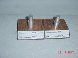 Two tool head stands for Dillon 550 New solid oak