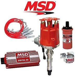 Msd Ignition Kit Digital 6a distributor wires coil Cadillac 368 425 472 500