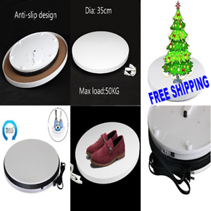 Great Rotating Display Turntable 3d Photo 360 Degree Home Decor White Original