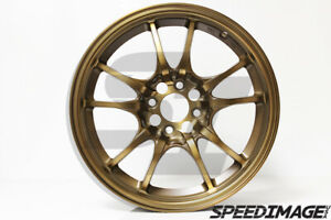 Rota Circuit 10 Wheels Sport Bronze 16x7 45 4x100 Civic Integra Miata Eg Dc