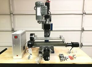 Taig Cnc Mill With 4th Axis Table And Gecko Driveusb Controller Excellent Con