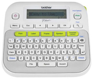 Brother Label Maker White gray