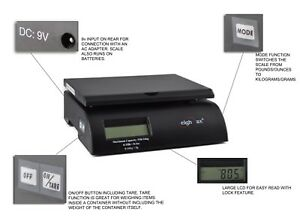 Digital Postal Scale Electronic Postage Scales Mail Package Usps 35 Lbs 0 2 Oz