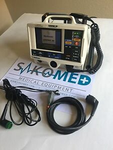 Lifepak 20 3 lead Ecg Aed Re certified