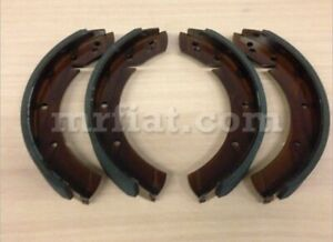 Porsche 356 Pre A Up To Bt6 Forged Brake Shoe Set 2nd Oversize 282 Mm New