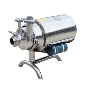 Practical Stainless Steel 304 Food Grade Centrifugal Pump Sanitary Beverage Pump