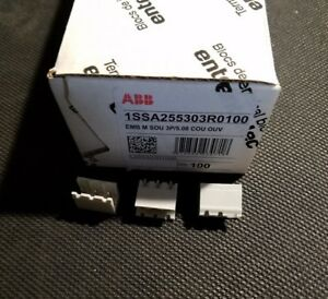Abb L25530301000 5 08mm Pcb Terminal Block Connector Box Of 100