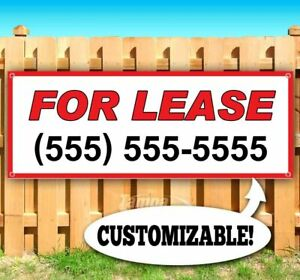 For Lease Custom Phone Advertising Vinyl Banner Flag Sign Usa