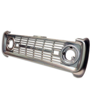 Front Steel Grille For 1966 1968 Ford Bronco free Shipping