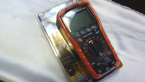 Klein Tools Mm600 Auto Ranging Digital Multimeter new