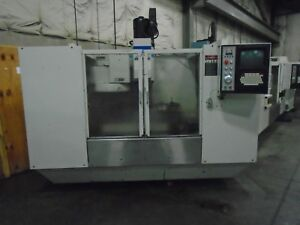 Fadal Vmc 4020 Cnc Mill With 4th Axis Redy 1996 video