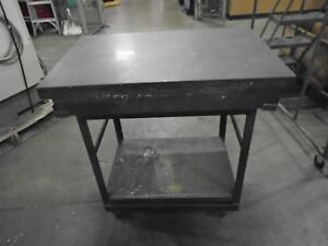 Surface Plate With Stand 36 X 24 X 5