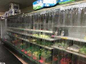 Hussmann D6x urle Refrigeration Display Cases Used Two Units Available