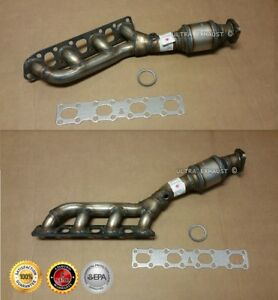 2004 2013 Nissan Titan 5 6l V8 Exhaust Catalytic Converter Direct fit Pair