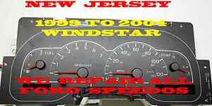 1999 2000 2001 2002 2003 2004 Ford Windstar Software And Odometer Calibration