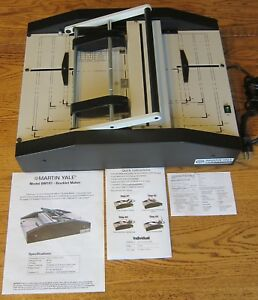Martin Yale Bm101 Automatic Booklet Maker