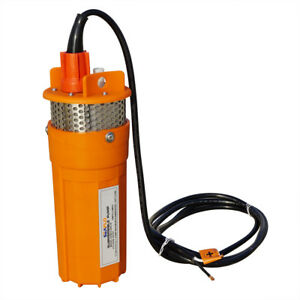 24v Submersible Deep Well Solar Water Pump Alternative Energy For Irrigation