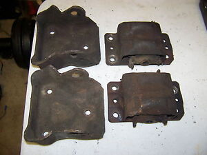Chevrolet Motor Mounts 350 V8 Car Truck Oem