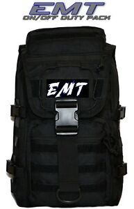 Emt First Responder Backpack Duty Bag First Aid Emergency Kit Free Shipping