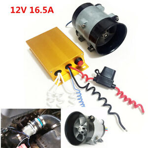 12v 16 5a Car Electric Turbine Power Turbo Charger Booster Automatic Controller