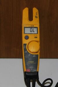 Fluke T5 600 Voltage Continuity Electrical Tester With Openjaw Current