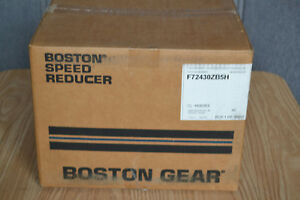 Boston Gear 30 1 Ratio Worm Speed Reducer F72430zb5h