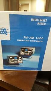 Ifr Fm am 1500 Communications Monitor Maintenance Manual