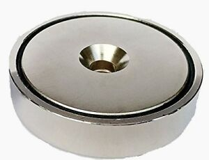 Itechvue 430lb Pull Force Ultra Strong Powerful Neodymium Cup Magnet