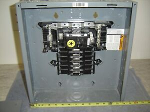 Square d 100amp 12 Circuit Load Center Qoc12uf
