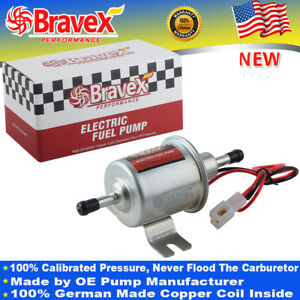 12v Electric Fuel Pump Low Pressure 2 5 4psi Ep12s 20 30gph 5 16 Pipe Fittings