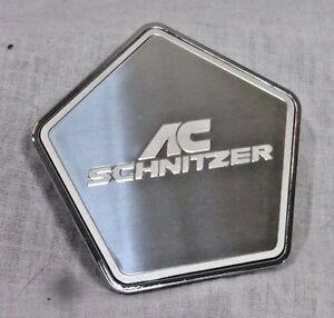 Bmw Ac Schnitzer Oem Genuine Chrome Wheel Star Center Cap For Type Iv Wheel New