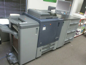 Low 500k Konica Minolta Press C1070 Color Copier Booklet Pf707 Envelope Fuser